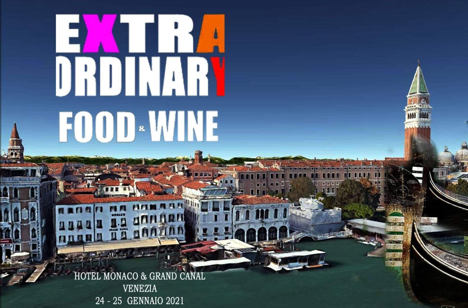 Extraordinary Food & Wine 2021